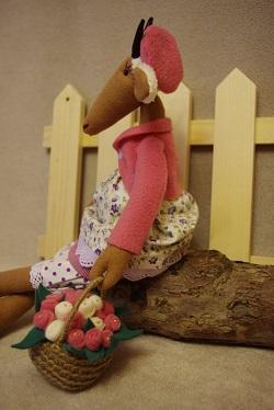 игрушка коза своими руками мк