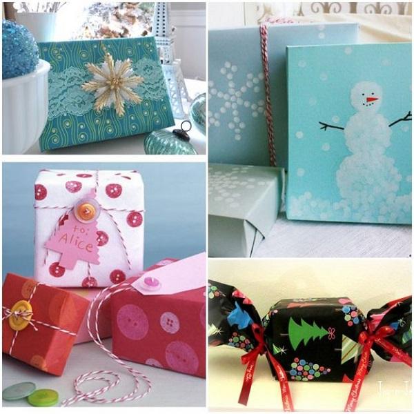как упаковать новогодние подарки оригинальные идеи