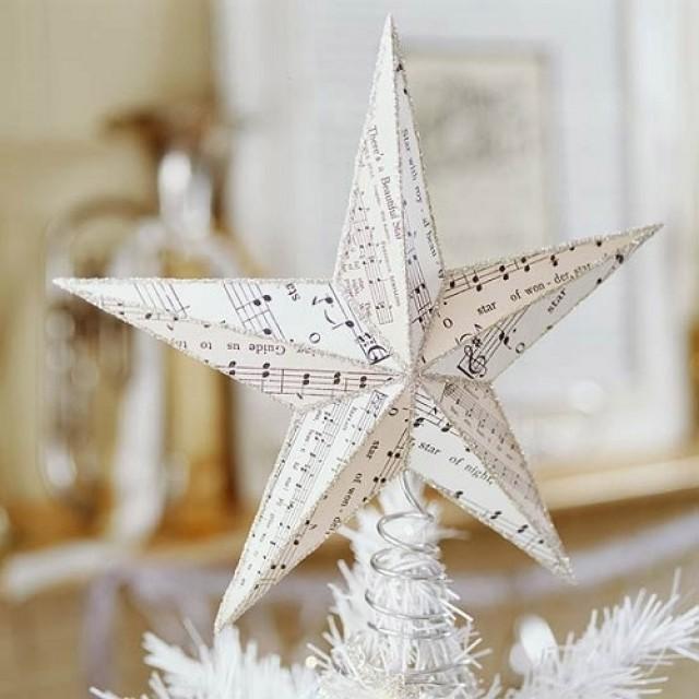 Звезда украшение своими руками