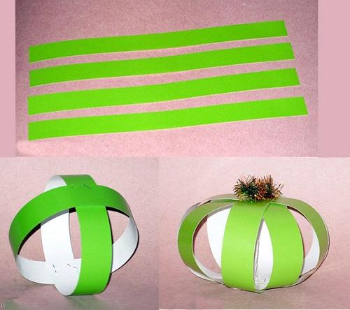 Сделать шарики из бумаги своими руками