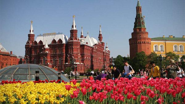 Погода в Москве на майские праздники 2015
