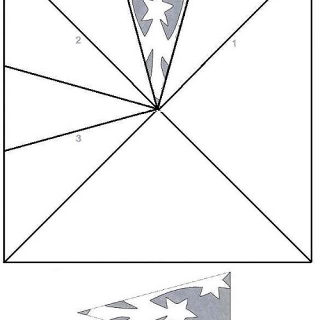 Схемы снежинки из бумаги своими руками схемы шаблоны 33