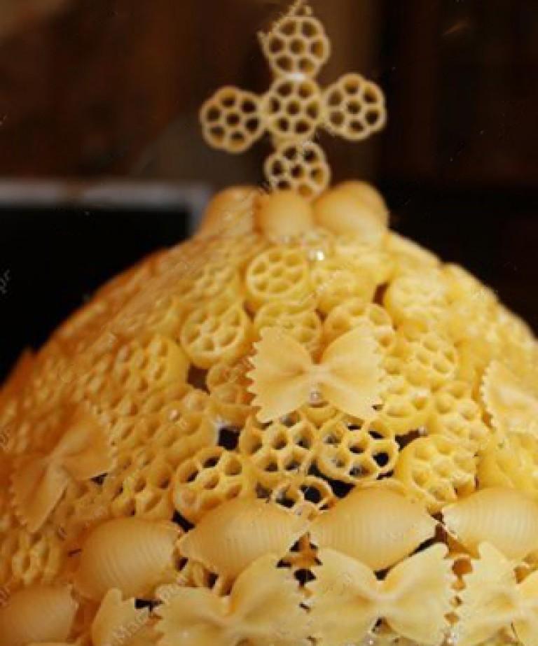 Поделки к пасхе из макарон мастер класс