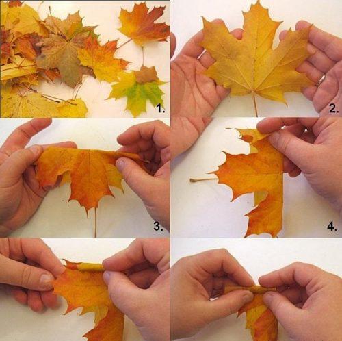 Осенние поделки пошагово